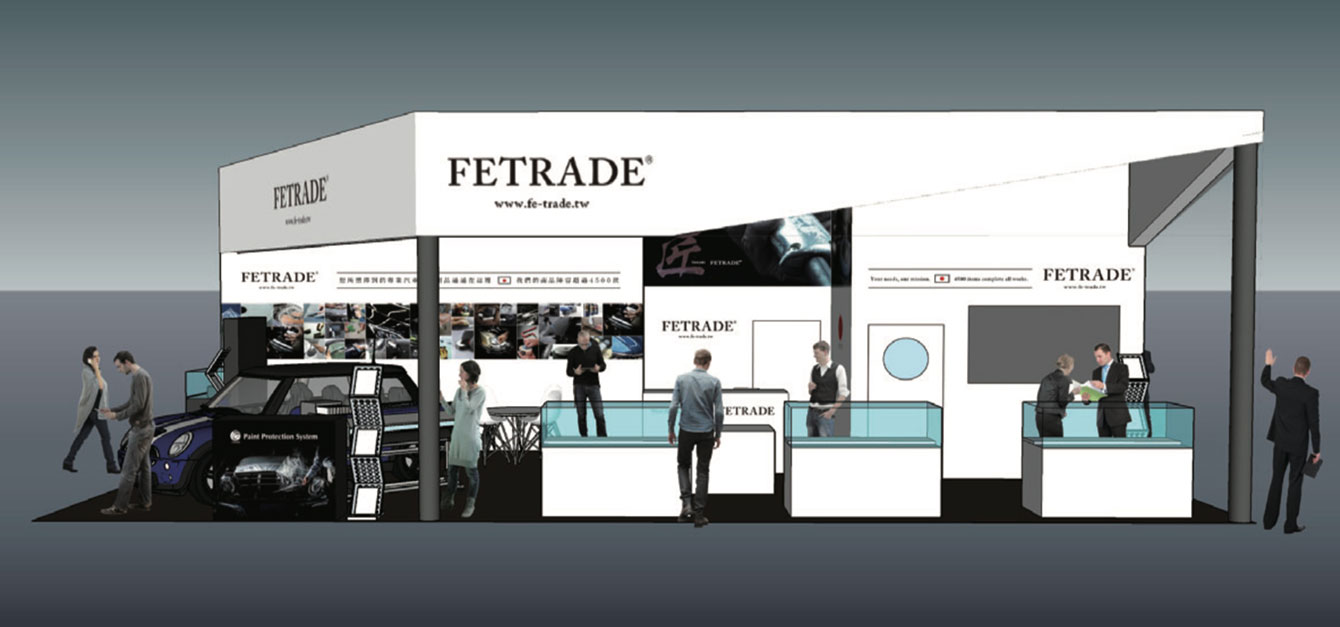Image of FE TRADE Booth at TAIPEI AMPA 2019